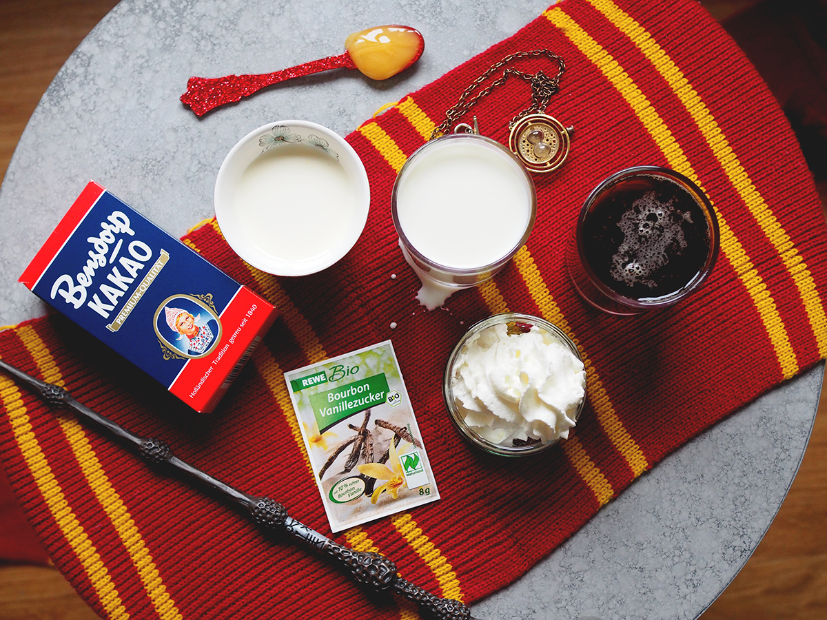 Zutaten für Butterbier Rezept